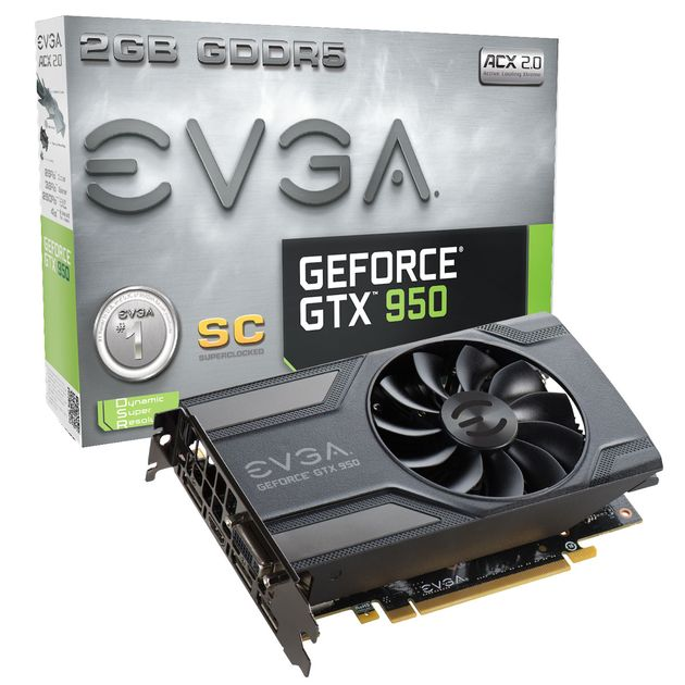 EVGA GeForce GTX950