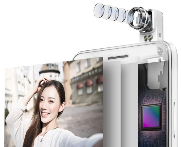 7i оснащен основной камерой с датчиком 13 мегапикселей и объективом F / 2 и эквивалентным фокусным расстоянием в 28 мм.
