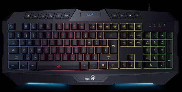 Клавиатура Genius Scorpion для настоящих фанатов ММО игр