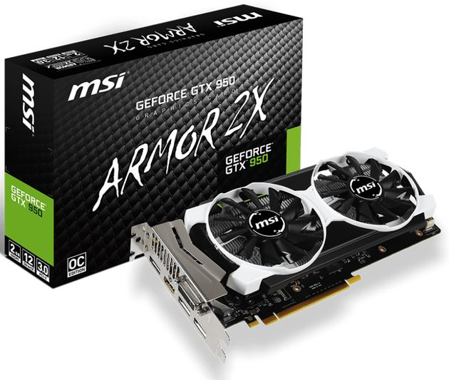 MSI GeForce GTX950