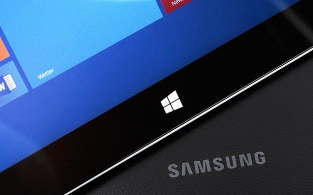 Samsung готовит планшет на Windows 10