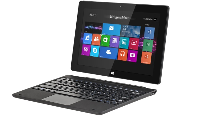 Kruger&Matz Edge 1083 – новый гибридный планшет на Win 8.1