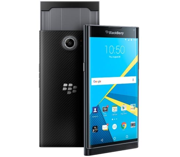 Официально показан BlackBerry Priv на Android и технические характеристики