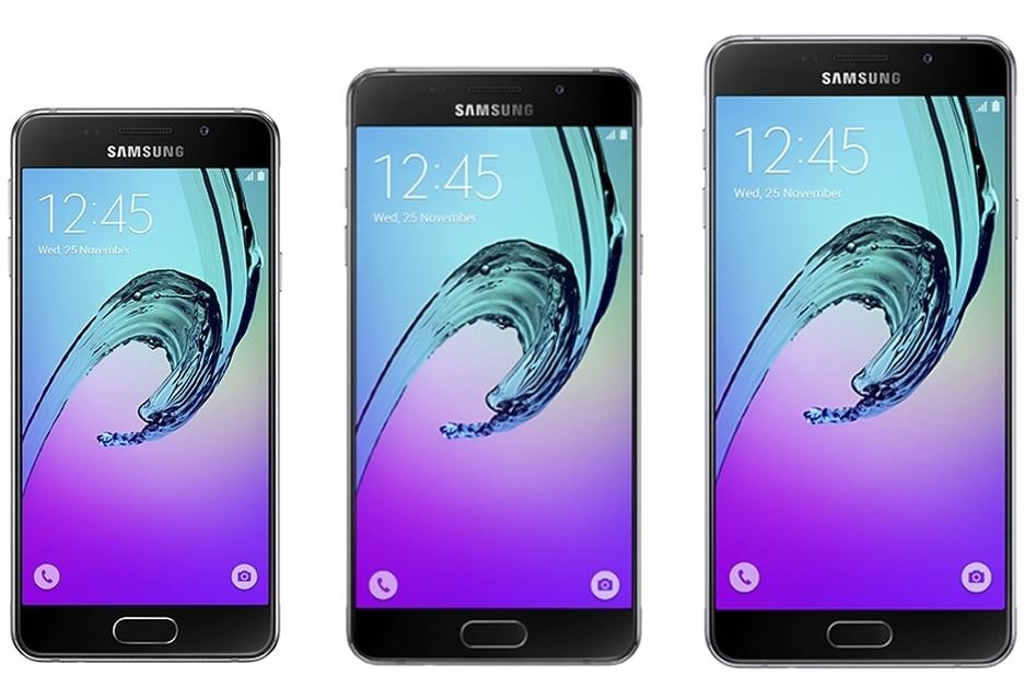 Технические характеристики Galaxy A3, A5 и A7 (2016)