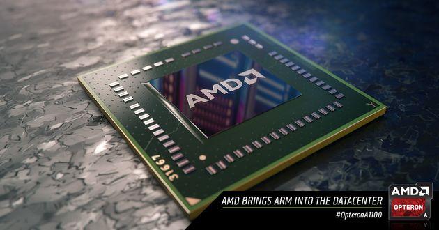 AMD официально презентовала Opteron A1100 для серверов