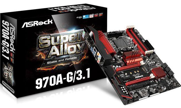 AsRcok 970A-G / 3.1: дешевая материнская плата для топовых процессоров AMD