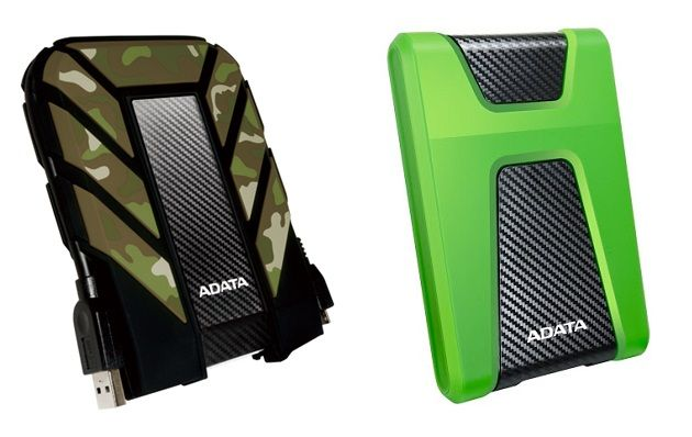 ADATA HD710M и HD650X - прочные внешние жесткие диски для любых условий