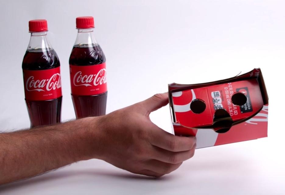 Coca-Cola + виртуальная реальность = Google Cardboard