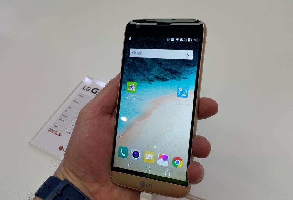 LG G5: вертим, крутим и смотрим как работает флагман