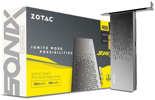 Zotac раскрыла подробности самого быстрого SSD с PCI-Express