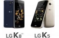 В марте в продажу поступят смартфоны LG K5 и K8