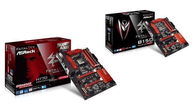 ASRock представила платы Fatal1ty Gaming B150 K4 Hyper и H170 Performance