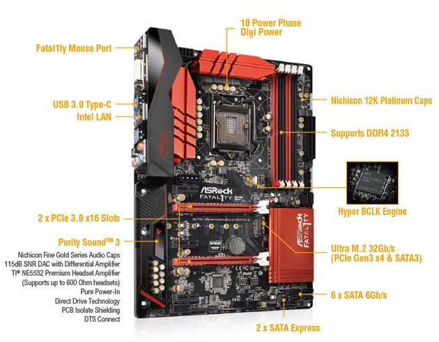 Fatal1ty H170 Performance