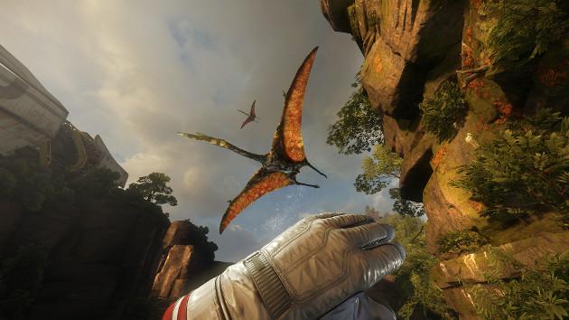 Cryengine показали новую игру, демонстрирующей возможности виртуальной реальности