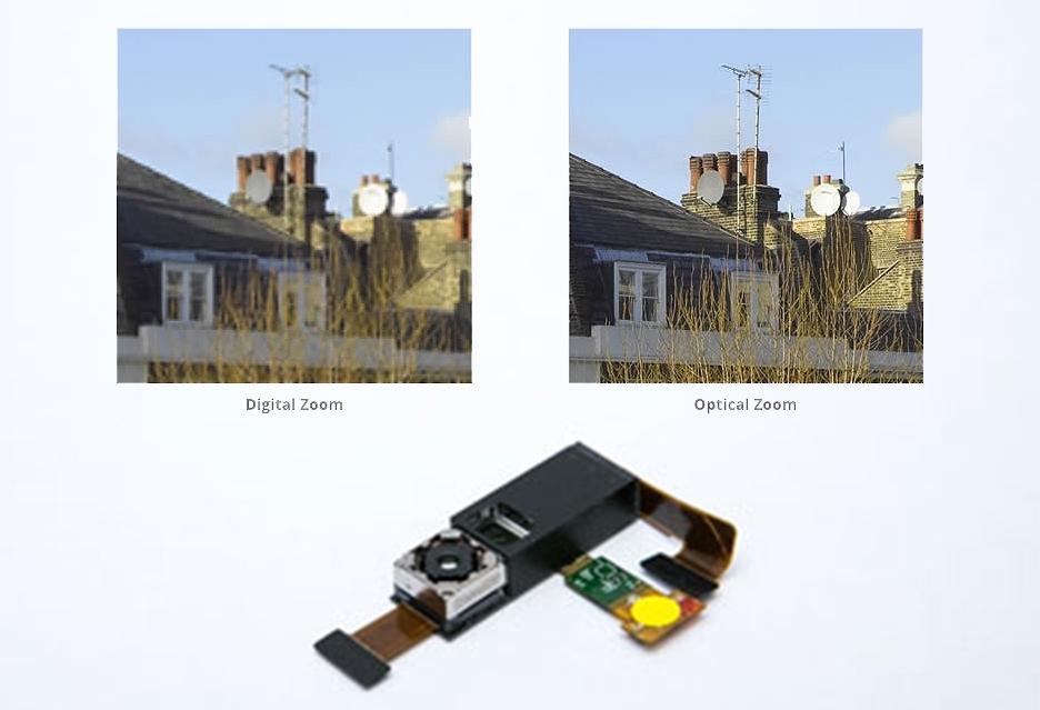 Hawkeye - камера для смартфонов с оптическим зумом
