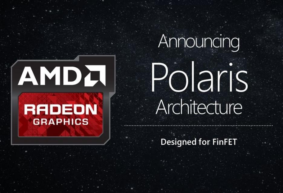 AMD показали презентацию производительности видеокарты Polaris 10