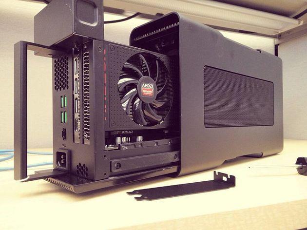 AMD разрабатывает универсальный стандарт для подключения видеокарт к ноутбукам