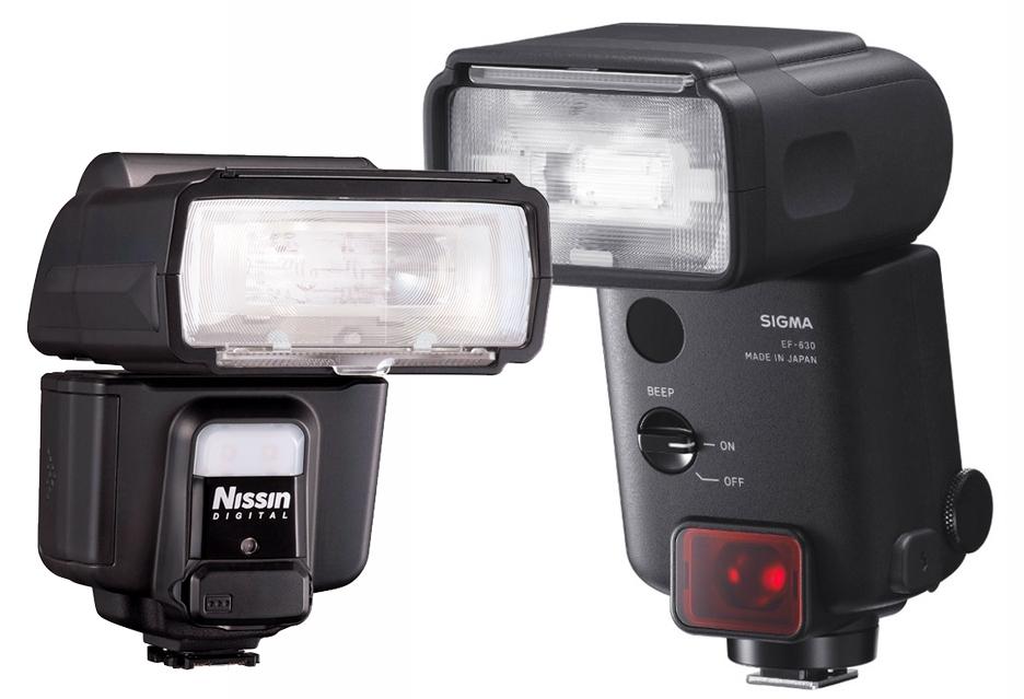 Sigma и Nissin готовят две вспышки i60A и EF-630 для фотокамер