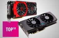 ТОП 10 видеокарт AMD и Nvidia стоимостью до 500 долларов: март 2016