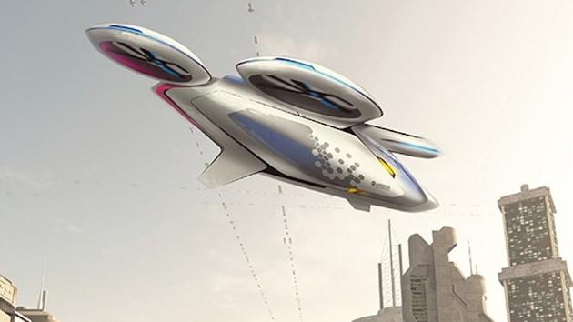 Airbus запустят летающее такси