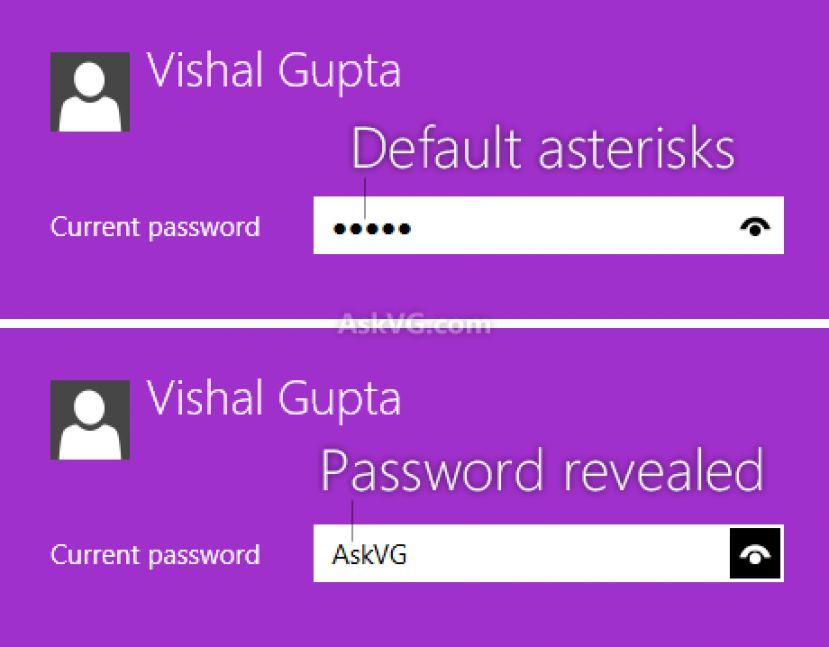 Отключение пароля Windows 8
